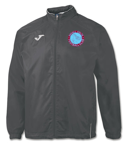 ECJFC grey rain jacket