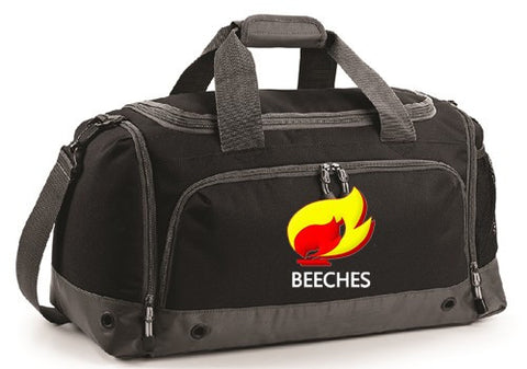 Beeches Black Holdall