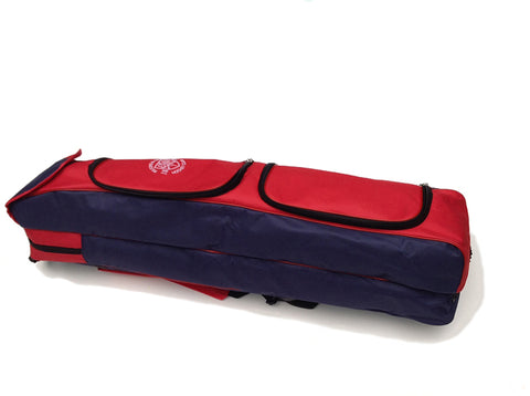 T & W Hockey Club Navy/red hockey stick bag
