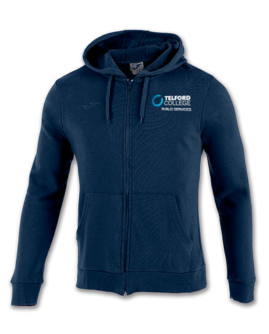 TCAT Public Services Navy Zipped Hoody