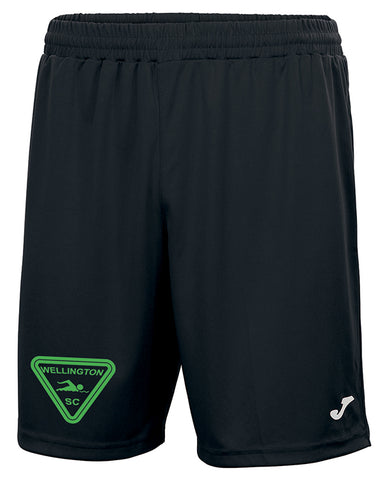 Wellington SC Black poolside shorts