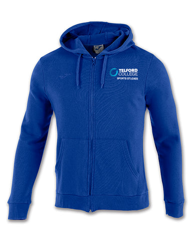 TCAT Sports Studies Royal Zipped Hoody