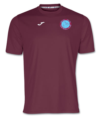 ECJFC Burgundy shirt