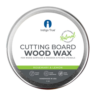 Cutting Board Wood Wax - Rosemary & Lemon (4oz)