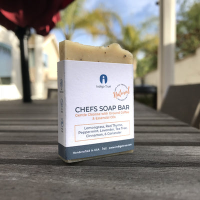 Chefs Soap Bar - Ground Coffee and Essential Oils (1oz)