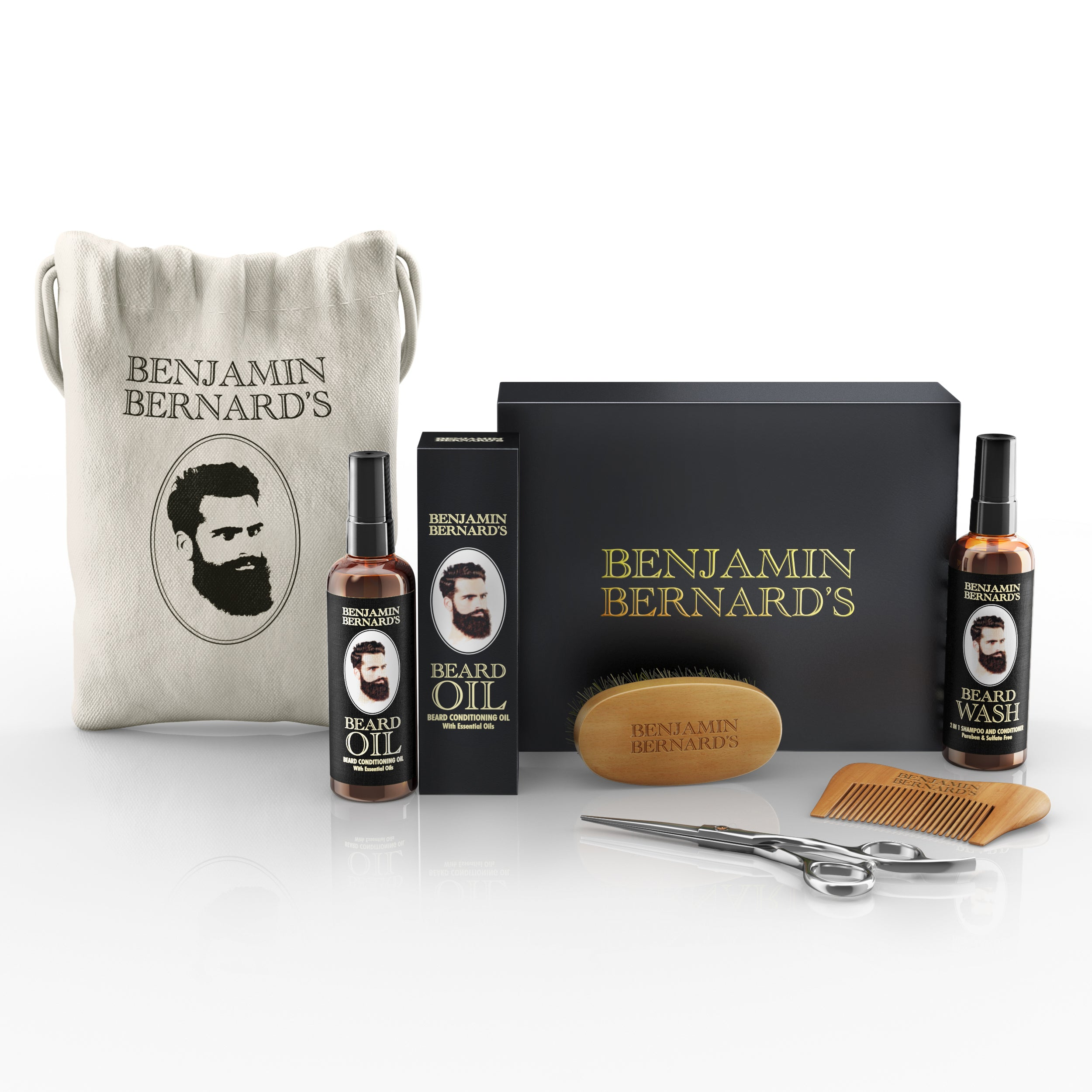 Beard Grooming Kit by Benjamin Bernard