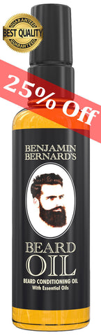 Benjamin Bernard's Best Beard Oil