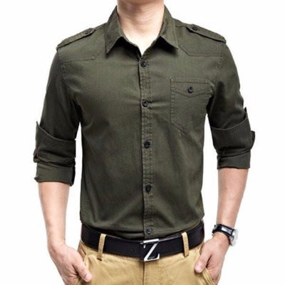 NinjApparel - Army Shirt - Cover