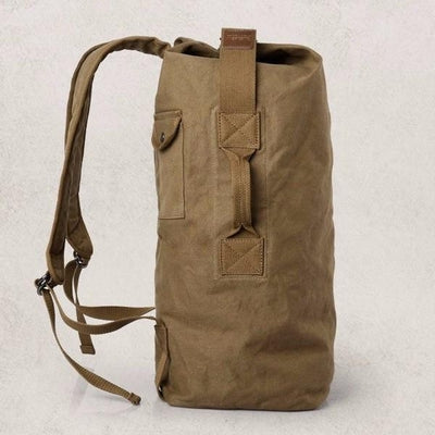 NinjApparel - Traveller Backpack - Khaki - Front