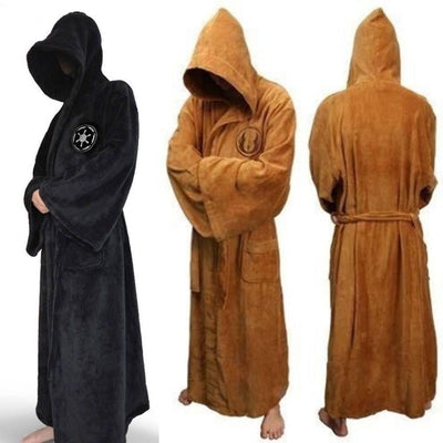 NinjApparel - The Jedi Council Robe - Variance-  Orange - Black