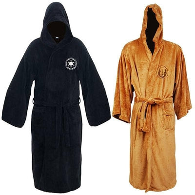 NinjApparel - The Jedi Council Robe - Variance-  Orange - Black - Front