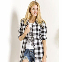 NinjApparel - Extended Plaid - Black - Front