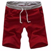 NinjaApparel - In & Out Shorts - Red - Front