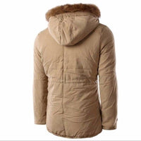 NinjApparel - Snow Master Jacket - Khaki - Back