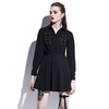 Button Up Mini Dress - NinjApparel - View 1