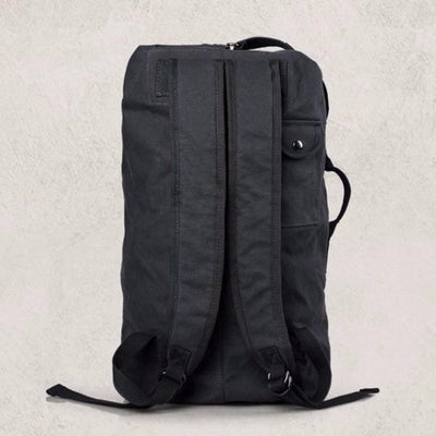NinjApparel - Traveller Backpack  - Black - Back