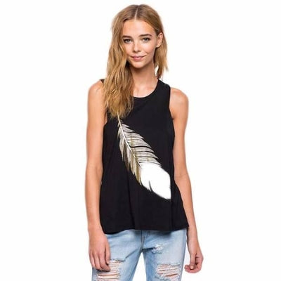 NinjApparel - Feather Tank - Cover