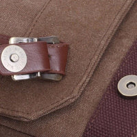 NinjApparel - Vintage Backpack -  Buckle Detail
