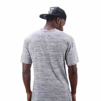 Summer Assassin Tee - NinjApparel - Grey Back View