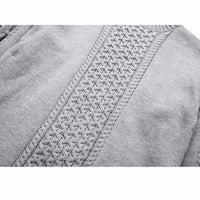 The Feudal Warrior - NinjApparel - Grey Knitted Close Up