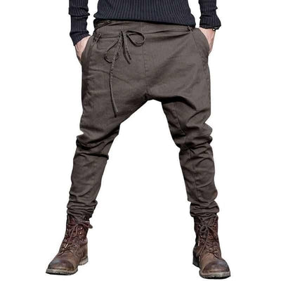 Streetwise Harem Pants - NinjApparel - Army Green Front View