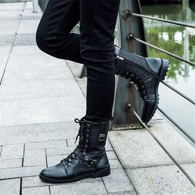 Warrior Ankle Boots 3