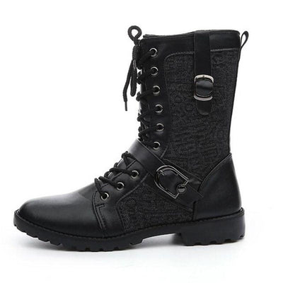 Warrior Ankle Boots 4