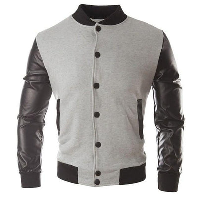Bomber Cardigan - NinjApparel - Light Grey