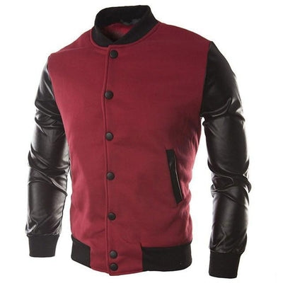 Bomber Cardigan - NinjApparel - Red
