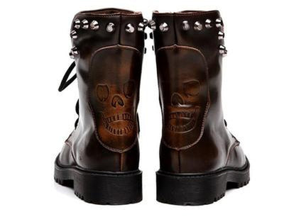 Rival Boots - NinjApparel - Brown Back View