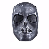 Ghost Mask - NinjApparel - Grey View 2