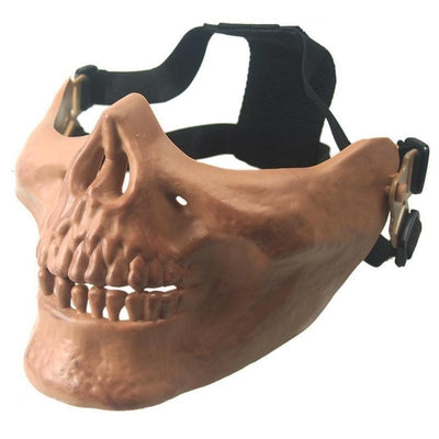 Protective Half-Face Skull Mask
