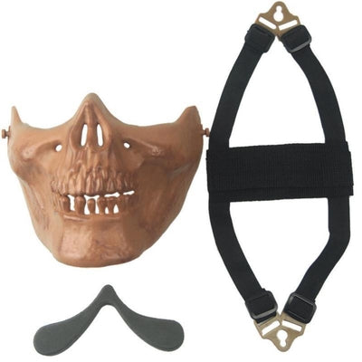 Protective Half-Face Skull Mask 2