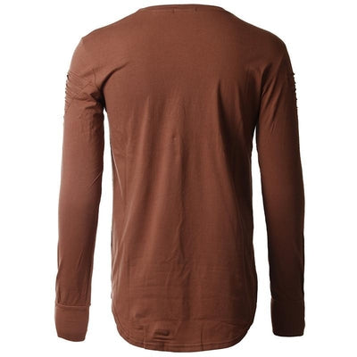 Harem Pullover - NinjApparel - Brown Back View