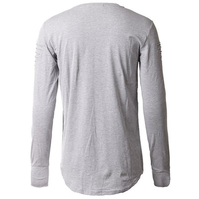 Harem Pullover - NinjApparel - Grey Back View