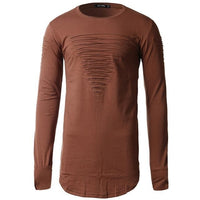 Harem Pullover - NinjApparel - Brown Front View