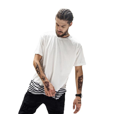 Extended Striped Tee