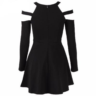 Division Cold Shoulder Dress - NinjApparel - View 6