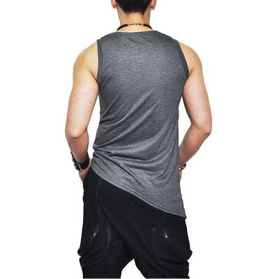 Cryptic Vest - NinjApparel - Grey Back
