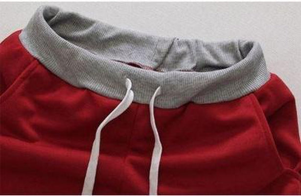 NinjaApparel - In & Out Shorts - Red - Waist