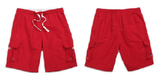 NinjApparel - Bermuda Shorts - Red