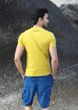 NinjApparel - Bermuda Shorts - Blue Back
