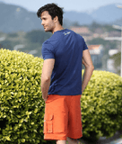 NinjApparel - Bermuda Shorts - Orange Back View