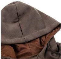Ninjapparel Chairo Paka Pullover Brown Hood Detail