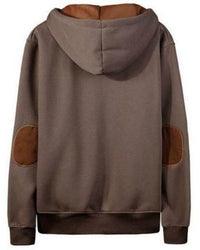 Ninjapparel Chairo Paka Pullover Brown Back