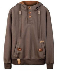 Ninjapparel Chairo Paka Pullover Brown Front