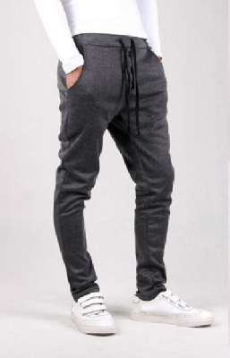 NinjApparel - Button Down Joggers - Dark Grey