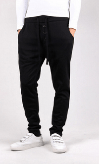 NinjApparel - Button Down Joggers - Black