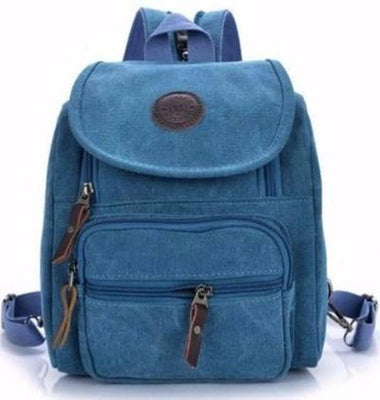 NinjApparel - Canvas Bag - Blue
