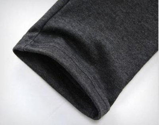 NinjApparel - Drop Crotch Campus Chillers Grey Close-up